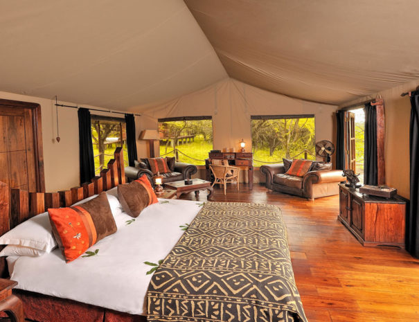 Serengeti Migration Camp Bedroom Tent