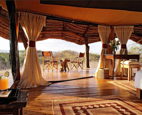 Luxury safari lodges in Tanzania