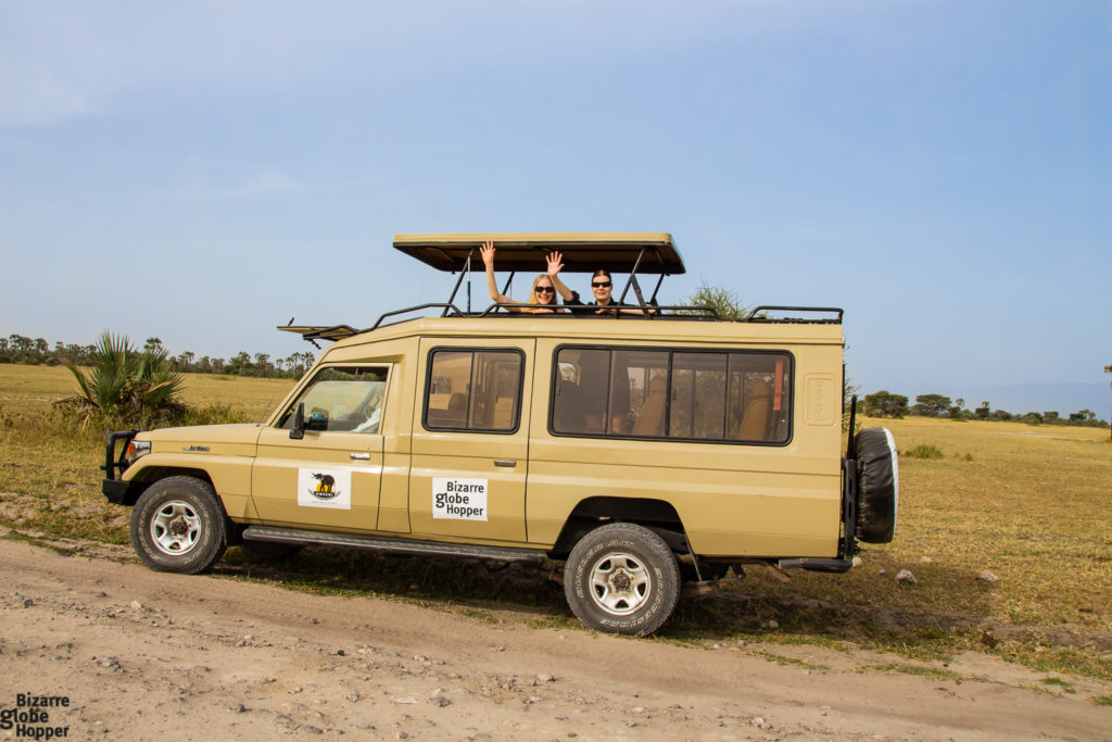 Safari jeep, Scheduled Safaris, bush & beach safari