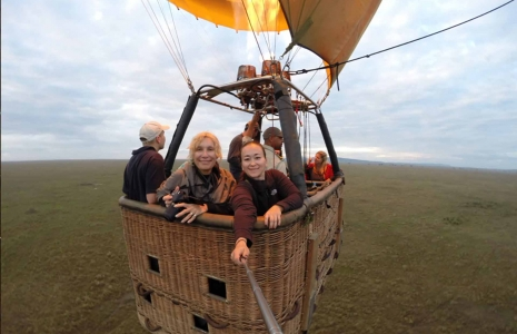 Hot Air Balloon Ride | Safari Package, bush & beach safari, Road Less Traveled Safari