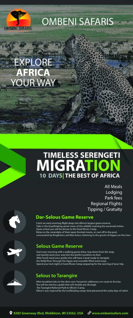 Serengeti Migration infographic