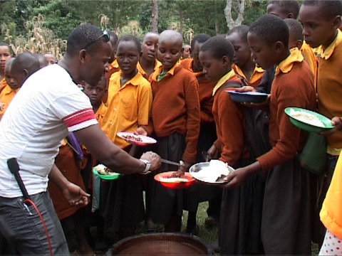 ombeni founder at his chiladhood school